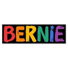 Bernie Fun Rainbow Bumper Bumper Sticker