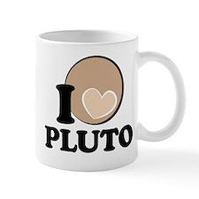 I Heart/Love PLUTO! Mug