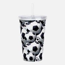 Soccer Fan Acrylic Double-wall Tumbler