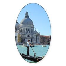 Venice Oval Decal