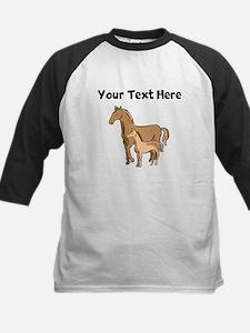 Horse And Foal (Custom) Baseball Jersey