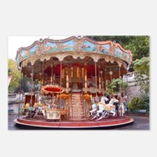 Montmartre Carousel Postcards (Package of 8)
