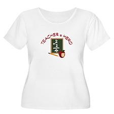 Teacher = Hero Plus Size T-Shirt