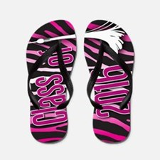 Class Of 2016 Flip Flops With Animal Print