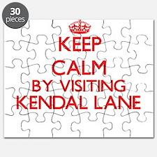 Keep calm by visiting Kendal Lane Massachus Puzzle
