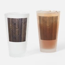 western country barn wood Drinking Glass
