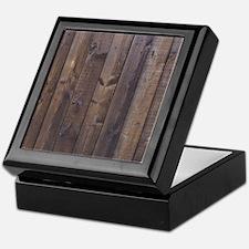 western country barn wood Keepsake Box