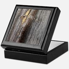 rustic primitive grey barn wood Keepsake Box