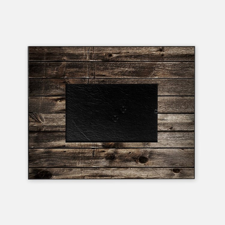 rustic primitive grey barn wood Picture Frame