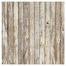 shabby chic white barn wood Poster