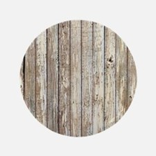 shabby chic white barn wood Button