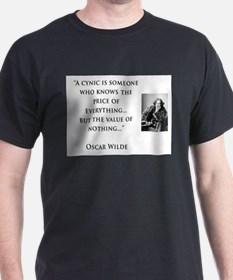Oscar Wilde - A Cynic knows the Price of Everythin
