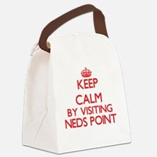 Keep calm by visiting Neds Point Canvas Lunch Bag