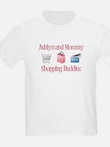 Ashlyn & Mommy - Shopping Bud T-Shirt
