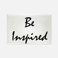 Be inspired Rectangle Magnet