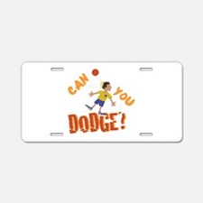 Can You Dodge? Aluminum License Plate