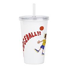 Dodgeball Acrylic Double-wall Tumbler