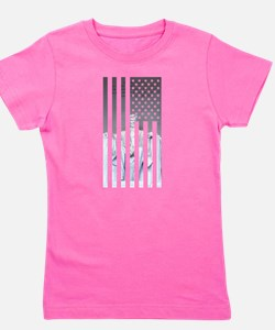 Unique Stars and stripes Girl's Tee