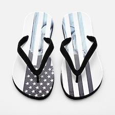 Unique American history Flip Flops