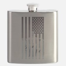 Cute Usa flags Flask
