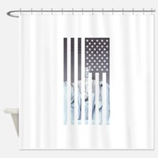 Cute Famous presidents Shower Curtain