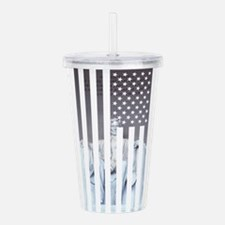 Unique Lincoln Acrylic Double-wall Tumbler