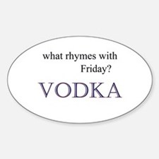 VODKA Decal