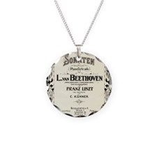 Beethoven Sonata Necklace