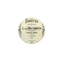 Beethoven Sonata Mini Button