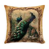 Bird Burlap Pillows