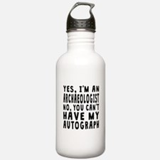 Archaeologist Autograph Water Bottle