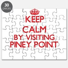 Keep calm by visiting Piney Point Massachus Puzzle