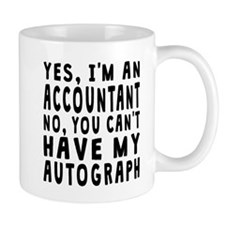 Accountant Autograph Mugs
