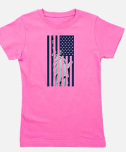 Liberty Flag Girl's Tee