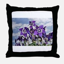 Columbine Throw Pillow