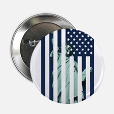 "Liberty Flag 2.25"" Button (10 pack)"