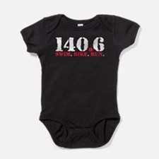 140.6 Swim Bike Run Baby Bodysuit