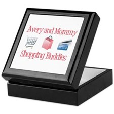 Avery & Mommy - Shopping Budd Keepsake Box
