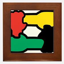 Equal Race Framed Tile