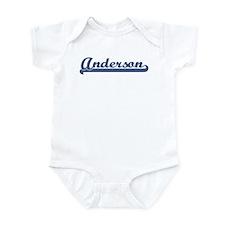Anderson (sport-blue) Infant Bodysuit