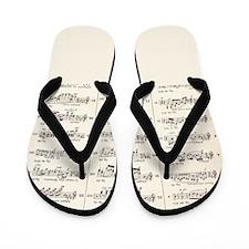 Musical Styles Flip Flops