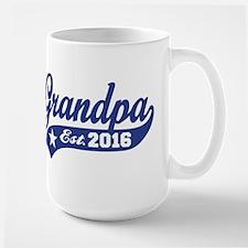 Grandpa Est. 2016 Coffee Mug