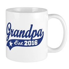 Grandpa Est. 2016 Small Mug
