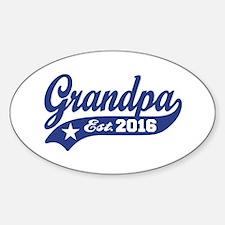 Grandpa Est. 2016 Decal