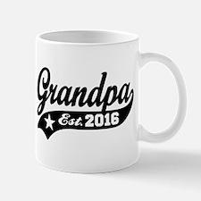 Grandpa Est. 2016 Mug