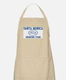 SANTA MONICA drinking team BBQ Apron