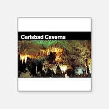 """Cute Cavern Square Sticker 3"""" x 3"""""""