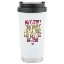 Back to the Future Biff Travel Mug