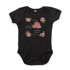 a rose by any other name Baby Bodysuit