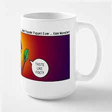 Kale Monster Ceramic Mugs